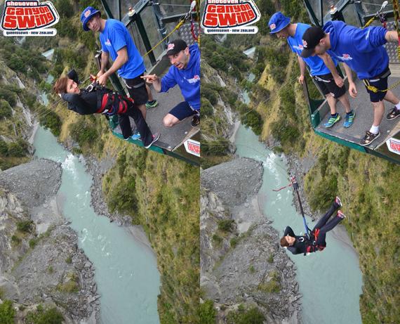 Shotover Canyon Swing New Zealand
