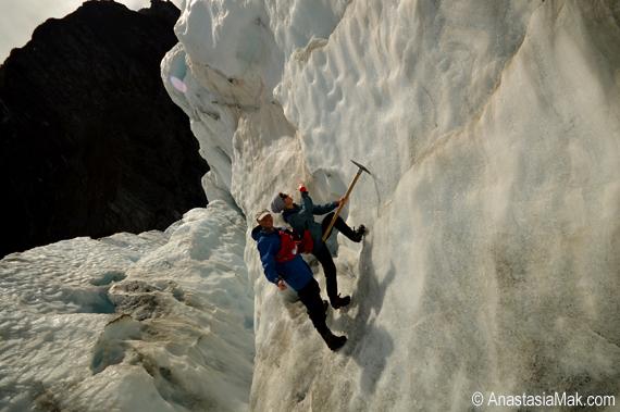 Franz josef ice climb