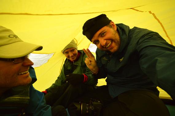 Franz josef glacier tent