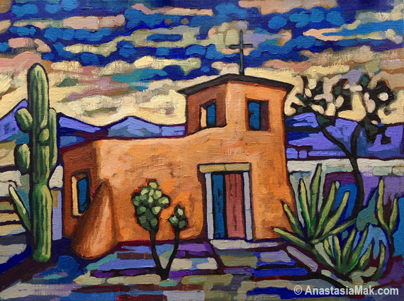 DeGrazia Chapel painting