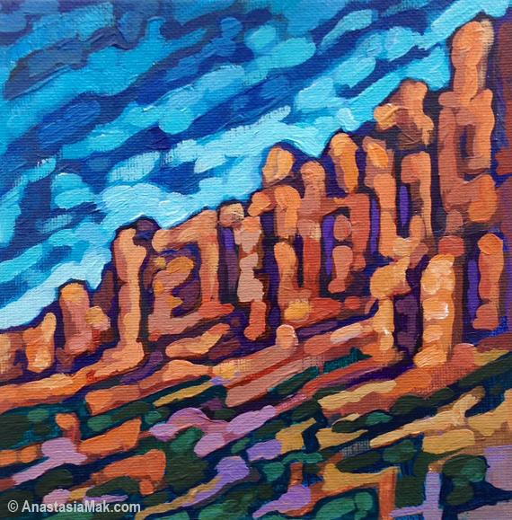 Chiricahua painting