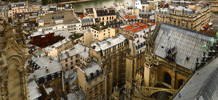 Top of Notre Dame
