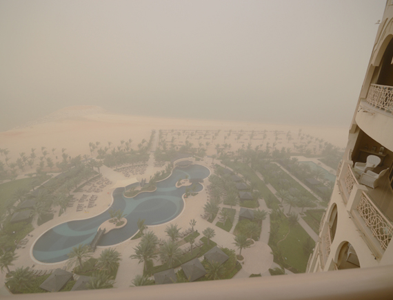 United Arab Emirates sand storm